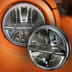 "Trucklite® 7"" LED Round Head Lamps for 76-up Jeep® CJ, Wrangler TJ & JK"