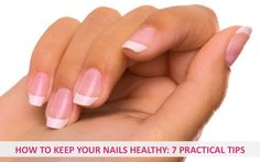 How to keep your nails healthy: 7 practical tips - Finger nails are a wonderful thing to have, very useful for picking up coins or scratching an itch. Your nails also make nifty little windows into your health; weak, peeling or brittle fingernails can often be an early sign of illness or nutritional deficiency. Here are 7 practical tips for keeping your nails healthy and nicely groomed... - http://www.urbanewomen.com/7-practical-tips-for-keeping-your-nails-healthy.html