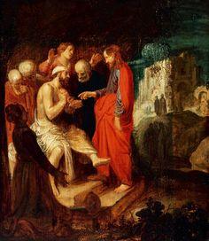 'The Awakening of Lazarus', Jan Pynas, 1615