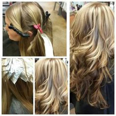 1000 Images About Foil Techniques On Pinterest Hair Girls Peekaboo Hair Colors And Star Patterns