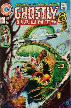 Ghostly Haunts #39 - Tom Sutton. Charlton Comics.