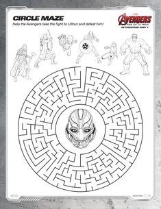 Mavel Avengers Circl