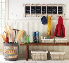Decorating ideas for the home - Decorating walls, rack - Ideas de #decoración de paredes, percheros