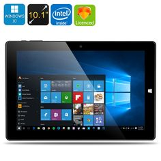 Chuwi Ultrabook 10,1  Windows10 Android 5.1 Intel Z8300 Quad Core 64GB Tablet PC