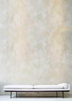Lucien Ml II Daybed minimal design Bench Furniture, Modern Furniture, Furniture Design, Interior Architecture, Interior And Exterior, Interior Design, Venetian Plaster Walls, Modul Sofa, Sofa Daybed