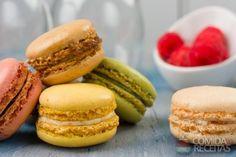 Receita de Macarons em receitas de biscoitos e bolachas, veja essa e outras receitas aqui!