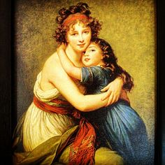 Elizabeth vigee- leeburn Mother and child