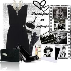 Inspired by Breakfast at Tiffanys