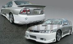 Custom Honda Accord Sedan Front Bumper (2004 - 2007) - $450.00 (Part #HD-007-FB) Custom Body Kits, Station Wagon, Honda Accord, Cutaway