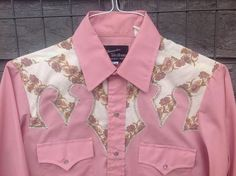 Vintage Champions Western Ladies Pink Pearl by TheCowboysCloset, $49.00