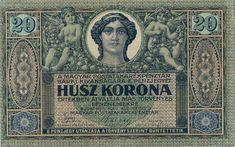 20 Крон (1919) Венгрия (Hungary) Европа Taps, Hungary, World, Coins, The World, Faucets