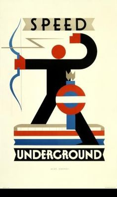Speed Underground, by Alan Rogers, - Poster Art London Underground's Greatest Designs. A major exhibition at London Transport Museum opening on 15 February 2013 in celebration of anniversary of the Underground. Retro Poster, Art Deco Posters, Vintage Travel Posters, Poster Prints, Deco London, London Art, London Underground, Underground Tube, Harlem Renaissance