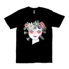 View the Campaign Traditional Tattoo Lady on Mercht.com #tattoo #tattootshirt #traditionaltattoo #ink #tshirt #fashion