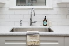 Chester Matte Bianco Ceramic W Tile Kitchen Fixtures, American Standard, Chester, Polished Chrome, Cleaning Hacks, Faucet, Tub, Sink, Ceramics