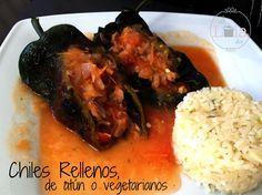 La Lola Dice: Chiles Rellenos, de atún o vegetarianos