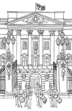 LONDON COLOURING BOOK - Emma Farrarons