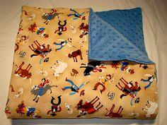 Tan Cowboy Blanket