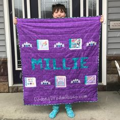 de Jong Dream House: Quilt Beauty and Brains Creative Writing Inspiration, Brain Parts, Bible Story Book, Girls Bible, Unicorns And Mermaids, All Things Purple, Childrens Books, New Baby Products, Fun Facts