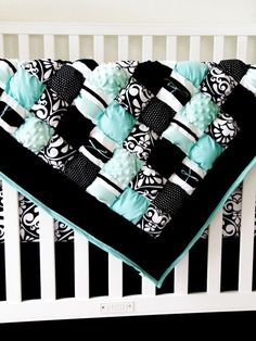 Puff Baby Quilt - DIY love this!!