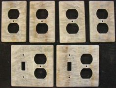 Tumbled Travertine Switch Plates And Outlet Covers