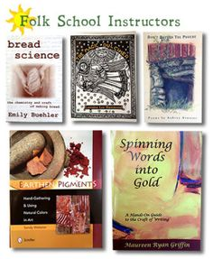 Books by our wonderful instructors! | John C. Campbell Folk School | Visit us at www.folkschool.org