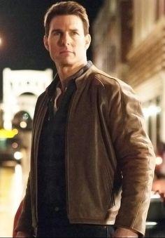 $195.00 - Tom Cruise Jack Reacher Leather Jacket