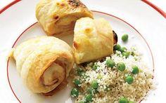 Arrolladitos de pollo, jamón y queso - El Gran Chef