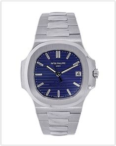 fedc47397ea Patek Philippe Nautilus Platinum Anniversary Men s Watch the best price. Men s  Luxury Watches