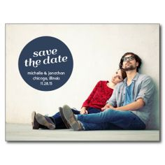 This Deals VINTAGE FLAIR | SAVE THE DATE ANNOUNCEMENT POST CARD ...