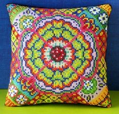 Flamenco_Mini_Cushion_Cross_Stitch_Kit