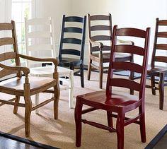 Wynn Ladderback Chair #potterybarn
