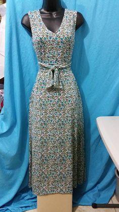 Cotton Knit maxi dress!!
