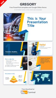 Do you want to make a greater impact on your audience? Then use this free presentation template to make your presentation look professional and stand out. Download this theme and keep your audience glued to their seats! Presentation Templates, Quotations, Make It Yourself, How To Make, Free, Quotes, Quote, Shut Up Quotes