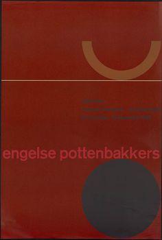 Benno Wissing – Engelse pottenbakkers, Museum Boymans Van Beuningen, 1960