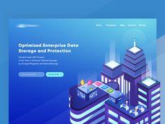 ☔️ CloudX Storage Data Header Concept by Achmad Zaini - Dribbble