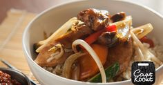 Dit heerlijke verse 'Chinese' gerecht tover je zo op tafel!    Ingrediënten    Poelier v/d Zijden (kraamnummer 26)    - 500 g kipfilet    - 4 dl