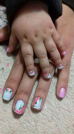 Pedicures, Acrylic Nails, Nail Art, Flower Nails, Edgy Nail Art, Drawings, Templates, Amor, Nail Art Designs