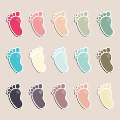 Footprint Clip Art Vector Further Foot Clip Art As Well As Baby ...