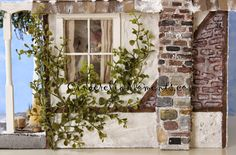 Cinderella Moments: Quintessential Cottage Dollhouse - A Christmas and Winter Inspired House