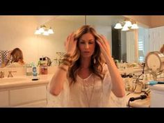 Best hair waving tutorial yet. It's all about how you position and wrap the curling iron! By @katie_leavitt. Wavy Curls, Long Curls, Wavy Hair, Her Hair, Easy Waves, Soft Waves, Loose Waves, Hair Curling Tutorial, Curled Hairstyles