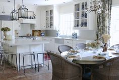 Eleven Gables: French Country Fall Home tour with Soft Surroundings and Romantic Homes Magazine