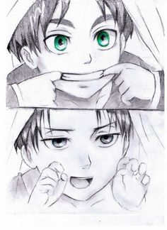 I wish that Levi could have memories of a normal or good childhood..