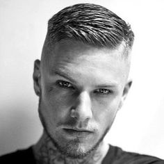 Cool Haircuts - High Fade with Crew Cut