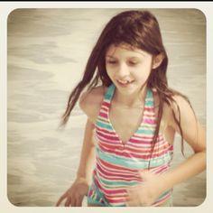 Cassidy at Vero Beach on Christmas Day. #Vero Beach,  #vacation, #beach