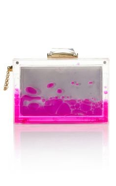 Kind of obsessed with this Kotur Pink Snow Globe Clutch from Moda Operandi