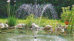 Suihkulähde tekee entistäkin viihtyisämmän kesän helteillä!