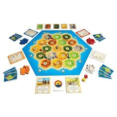 Catan, one of the best board games for interactive play Settlers Of Catan, The Settlers, Fun Board Games, Games To Play, Popular Family Board Games, Call Of Duty Infinite, The Knack, Social Games, Xbox One Games