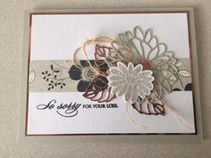 I've been MIA as I've been busy with some other projects and haven't had a chance to share some creative with you. I would like to share this lovely card made by my friend, Carole, using the Special Reason bundle. The card base is Sahara Sand and I love the incorporation of the Copper Foil …