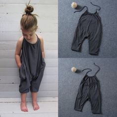 Luna Romper Harem Trousers style Casual and comfortable kidswear