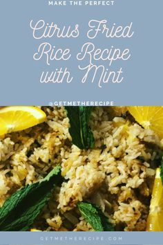 If you are, like me, a fan of fried rice in any and all forms, you will definitely be into this. I can always get down with some traditional seaweed and sesame oil fried nice, but sometimes I do want something lighter. This citrus fried rice recipe is just that; it's unique, easy to make, light and good for any time of the day. Like, you could even have it for breakfast (which I have). I can't wait for you to try it so let's get going! Friend Rice Recipe, Vegan Flatbread Recipes, Rice Recipes, Vegan Recipes, Sesame Oil, Seaweed, Fried Rice, Lighter, Fries
